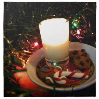 クリスマスのクッキーの蝋燭I プリントナプキン