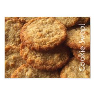 クリスマスのクッキー交換パーティー カード