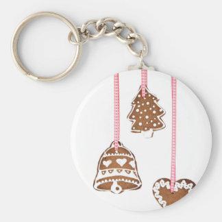 クリスマスのクッキー キーホルダー