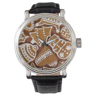 クリスマスのクッキー 腕時計