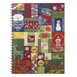 クリスマスのクラシックのノート ノートブック