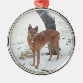 クリスマスのコレクションはペットか家族写真を加えます メタルオーナメント