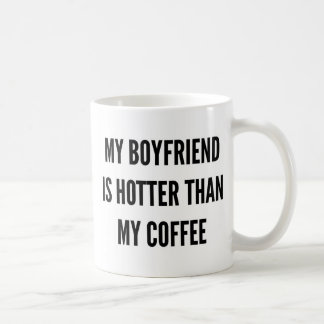 クリスマスのコーヒーは私のボーイフレンド熱いですより コーヒーマグカップ