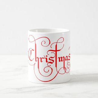 クリスマスのコーヒー・マグ コーヒーマグカップ