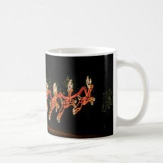クリスマスのサンタのそり2016年 コーヒーマグカップ