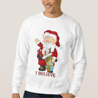 クリスマスのサンタの休日のTシャツ スウェットシャツ