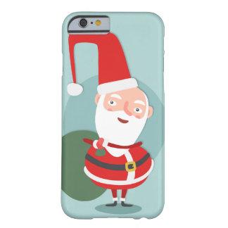 クリスマスのサンタのiPhone6ケース Barely There iPhone 6 ケース