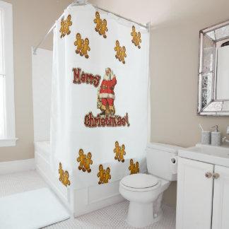 クリスマスのシャワー・カーテン シャワーカーテン