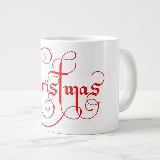 クリスマスのジャンボマグ ジャンボコーヒーマグカップ