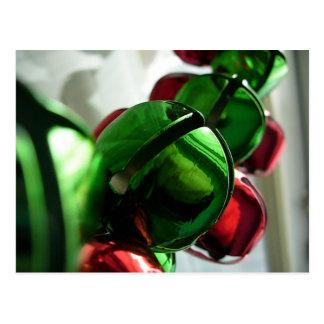 クリスマスのジングルベルの郵便はがき ポストカード