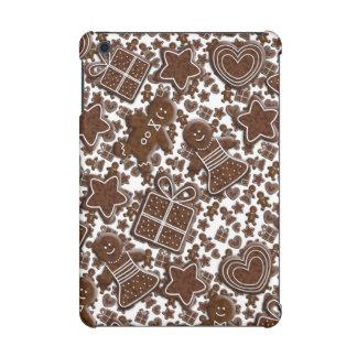 クリスマスのジンジャーブレッドのクッキー iPad MINI RETINAケース