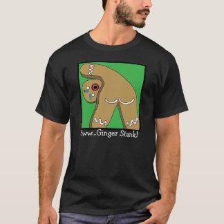 クリスマスのジンジャーブレッドの12屁 Tシャツ