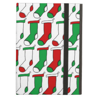 クリスマスのストッキングのソックス iPad AIRケース