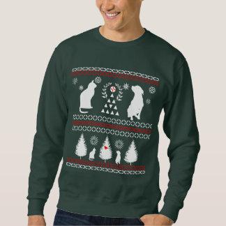 クリスマスのセーターのワイシャツ スウェットシャツ