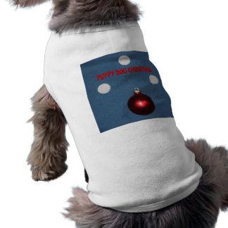 クリスマスのセーター ペット服