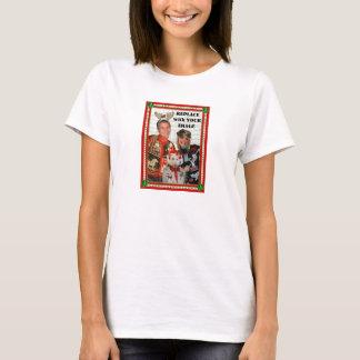 クリスマスのセーターizerのTワイシャツ女性ベビードール Tシャツ