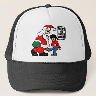 クリスマスのソックスおよび下着 キャップ