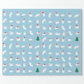 クリスマスのタロイモの包装紙 ラッピングペーパー