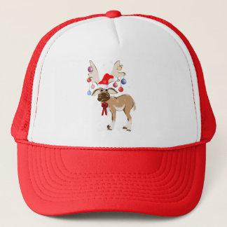 クリスマスのトナカイの帽子 キャップ