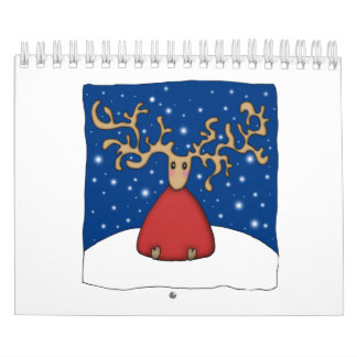 クリスマスのトナカイ カレンダー