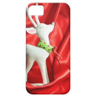 クリスマスのトナカイ iPhone SE/5/5s ケース
