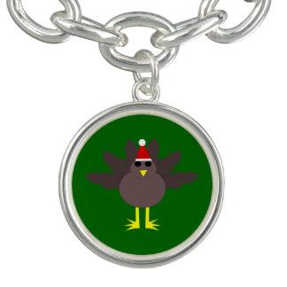 クリスマスのトルコのかわいいチャームブレスレット チャームブレスレット