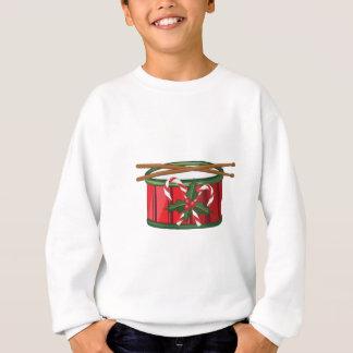 クリスマスのドラム スウェットシャツ