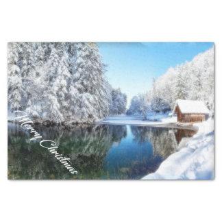 クリスマスのナプキン 薄葉紙