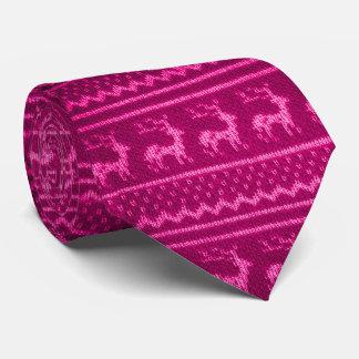 クリスマスのニットウェア ネクタイ