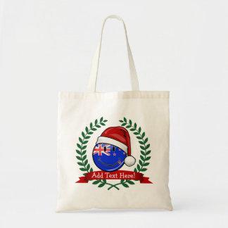 クリスマスのニュージーランドのスタイルの微笑の旗 トートバッグ