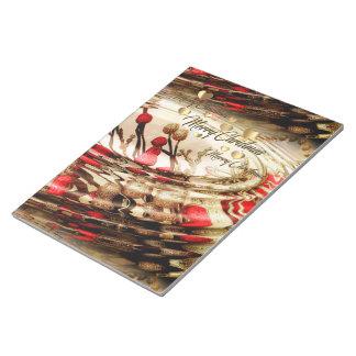 クリスマスのノート ノートパッド