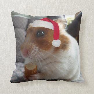 クリスマスのハムスターの枕 クッション