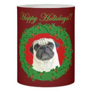 クリスマスのパグ犬LEDの蝋燭 LEDキャンドル
