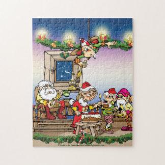 クリスマスのパズル ジグソーパズル