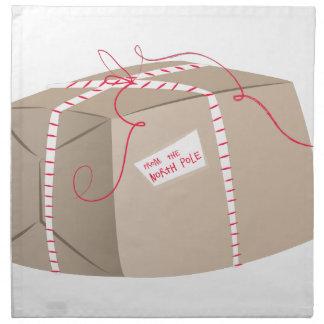 クリスマスのパッケージ ナプキンクロス