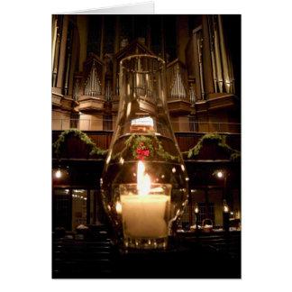 クリスマスのパーク・アベニューのキリスト教会 カード