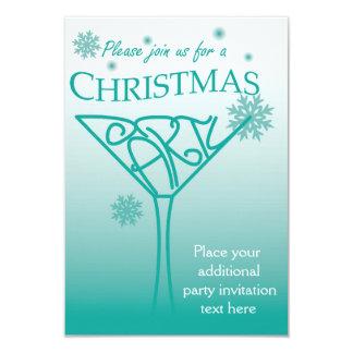 クリスマスのパーティの招待状のデザイン カード
