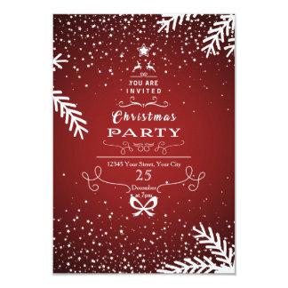 クリスマスのパーティの招待状カード カード