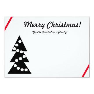 クリスマスのパーティの招待状 カード