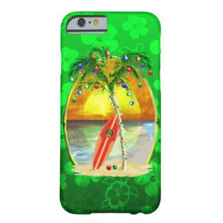 クリスマスのビーチの日没 BARELY THERE iPhone 6 ケース