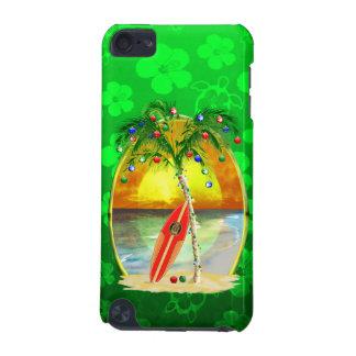 クリスマスのビーチの日没 iPod TOUCH 5G ケース