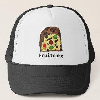クリスマスのフルーツのケーキのFruitcakeのグルメの休日の帽子 キャップ