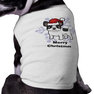 クリスマスのフレンチ・ブルドッグ ペット服