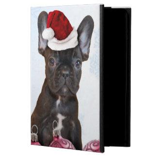 クリスマスのフレンチ・ブルドッグ iPad AIRケース