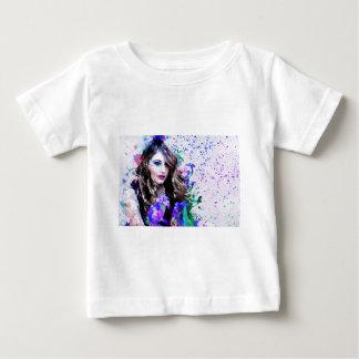 クリスマスのプレゼント ベビーTシャツ