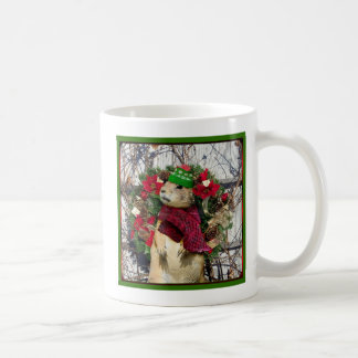 クリスマスのプレーリードッグ コーヒーマグカップ