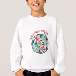 クリスマスのベスト スウェットシャツ