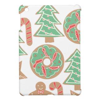 クリスマスのベーキングのプリント iPad MINIケース