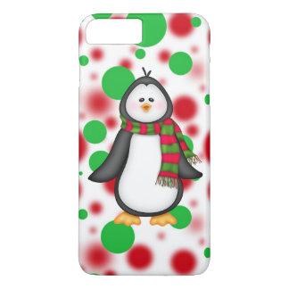 クリスマスのペンギンのiPhone 7のプラスのやっとそこに場合 iPhone 8 Plus/7 Plusケース