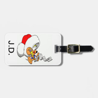クリスマスのマウス ラゲッジタグ